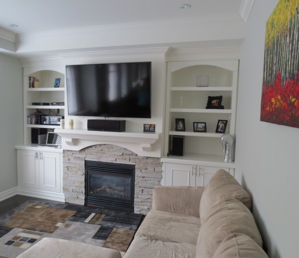 Custom Fireplace
